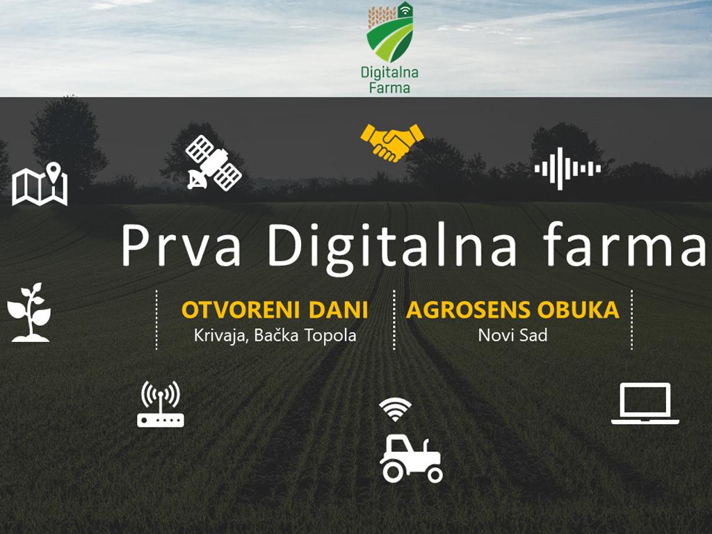 Počinju obuke poljoprivrednika na digitalnoj farmi u Krivaji - Prvi Otvoreni dan posvećen LoRa sistemu