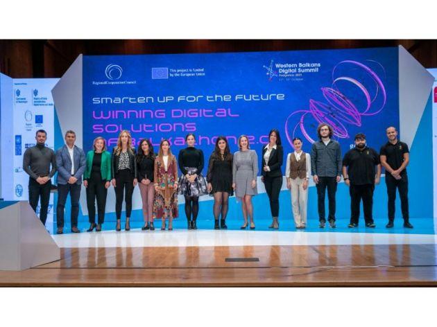 Pobjednici Balkathona na Digitalnom samitu