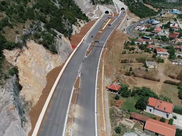 Pogledajte kako izgleda kompletna prioritetna dionica autoputa u Crnoj Goru (VIDEO)