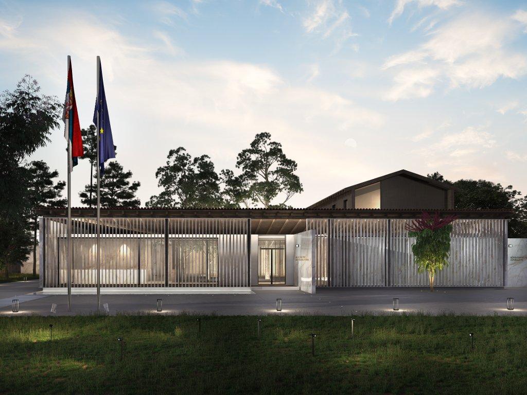 Baubeginn für neue Botschaft von Serbien in Canberra im ersten Halbjahr 2019 - Beste Vorentwürfe ausgewählt