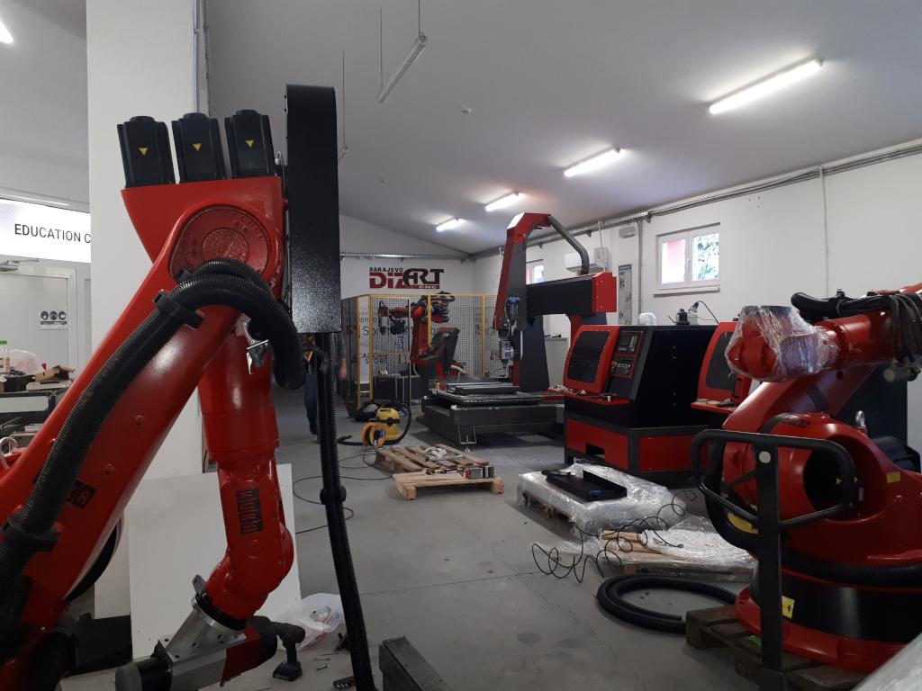 Iz garaže do regionalno prepoznatljivog brenda - Proizvođač CNC mašina Dizart iz Sarajeva razvija nadogradnju industrijskih robota