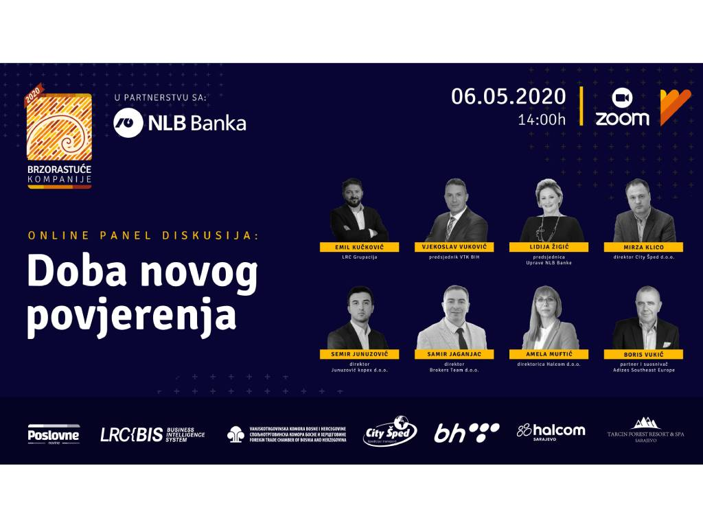 "Onlajn konferencija ""Doba novog povjerenja"" 6. maja"