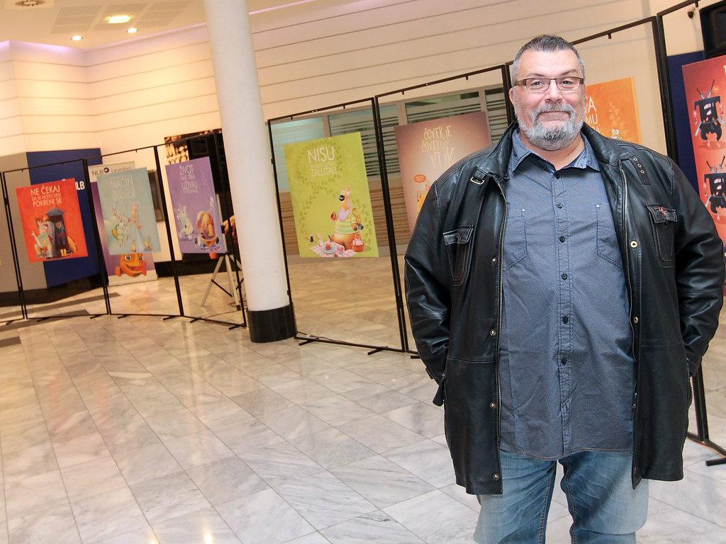 Humanitarna izložba ilustratora Dobrosava Boba Živkovića