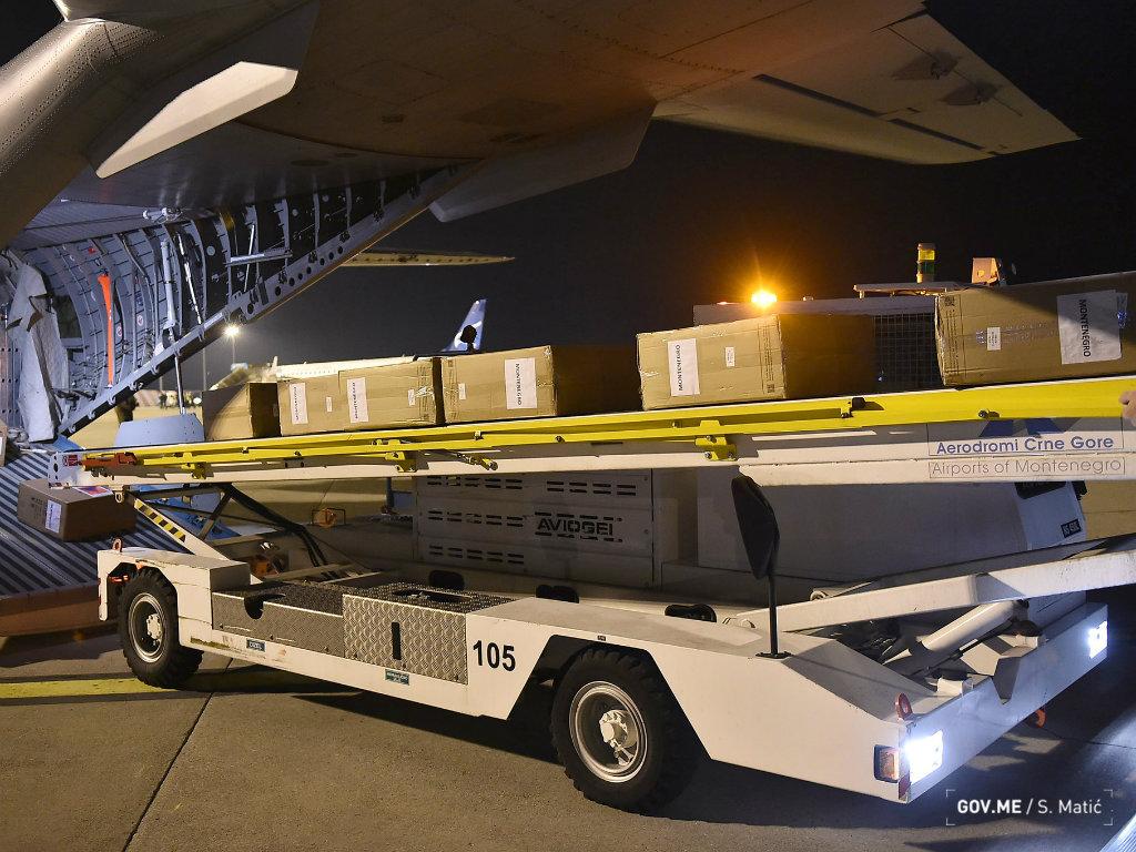 Češka donirala Crnoj Gori medicinsku opremu vrijednu 190.000 EUR