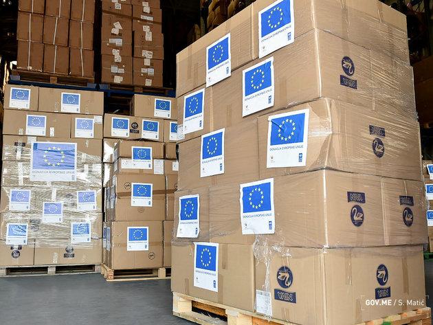 EU donirala Crnoj Gori medicinsku opremu vrijednu 200.000 EUR