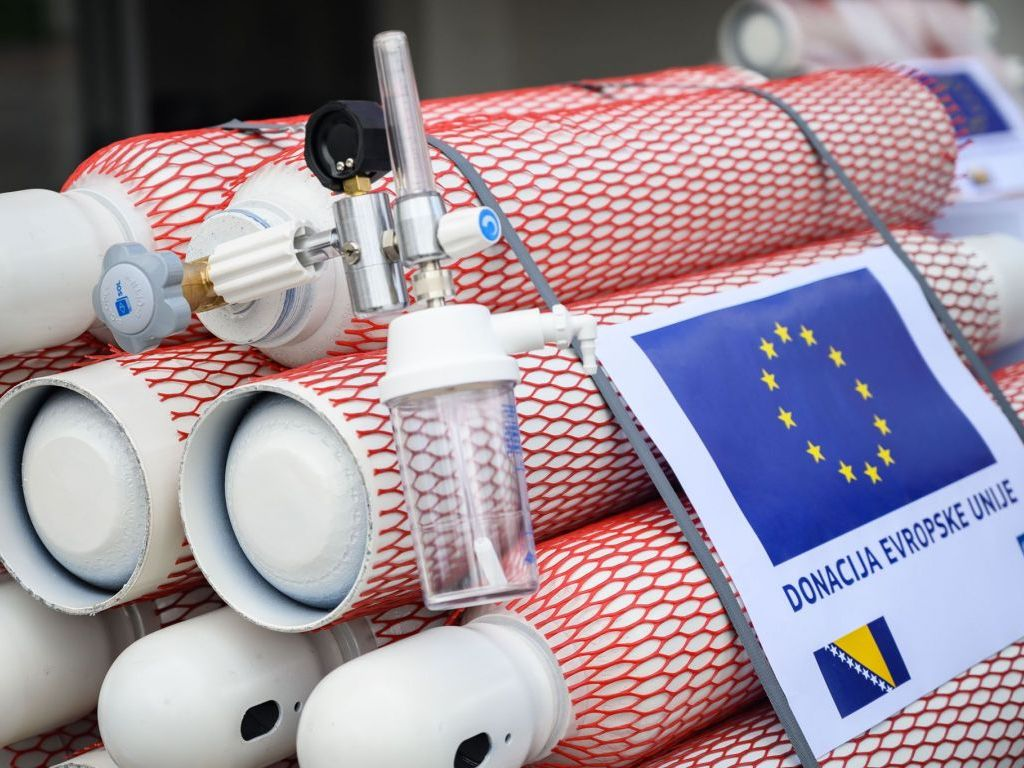 EU donirala 200 boca za kisik domovima zdravlja Kantona Sarajevo