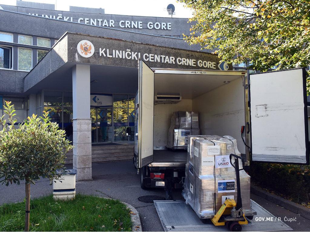 Crna Gora dobila 20 respiratora, uskoro stiže i medicinska oprema vrijedna 500.000 EUR