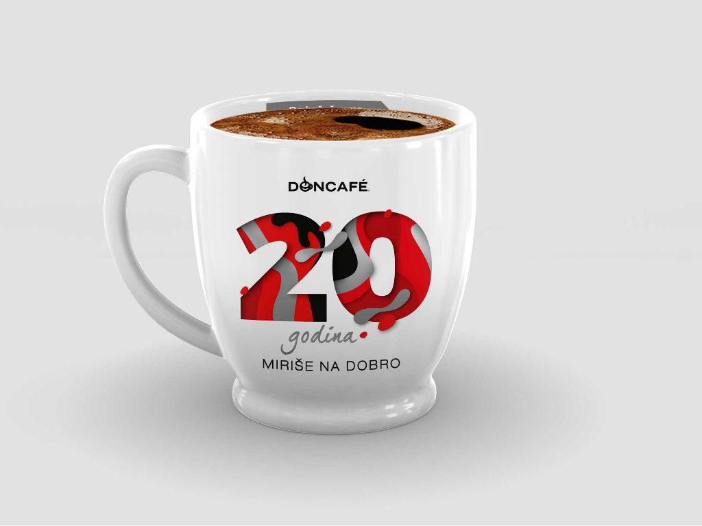20 godina zajedno - Doncafé šoljica, prava mera zadovoljstva