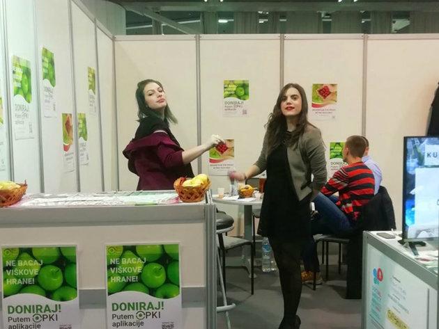 Članovi tima Donorum pomoću aplikacije žele da spreče bacanje hrane i da je usmere onima kojima je najpotrebnija