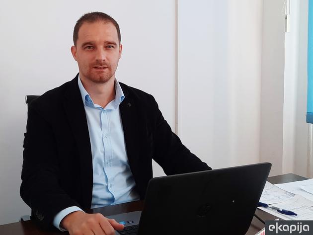 Dražen Bošković, direktor Agencije za razvoj malih i srednjih preduzeća - Sve više mladih u Trebinju želi pokrenuti svoj biznis