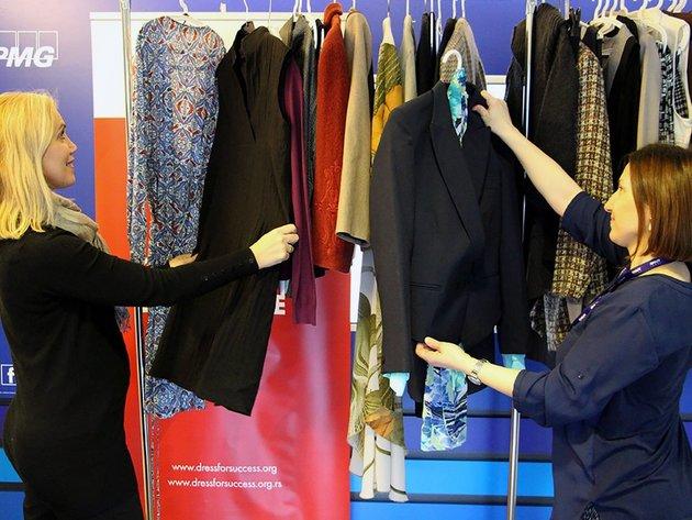 Organizacija Dress for success Belgrade prikuplja žensku poslovnu garderobu