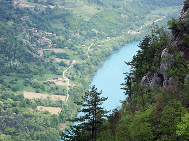 The Drina river