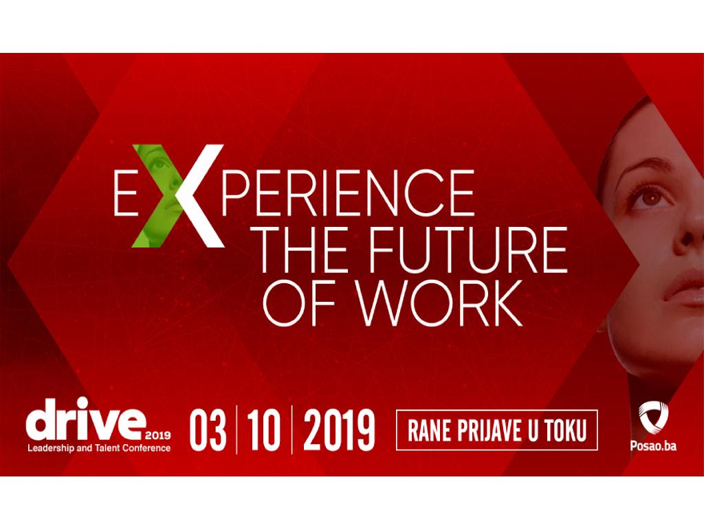 Deseta Drive konferencija 3. oktobra u Sarajevu - Kako privući i zadržati talentovane radnike