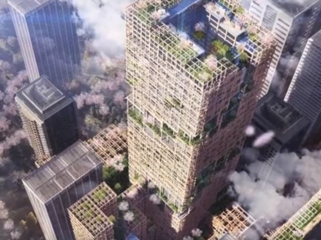 Tokyo to become wooden city