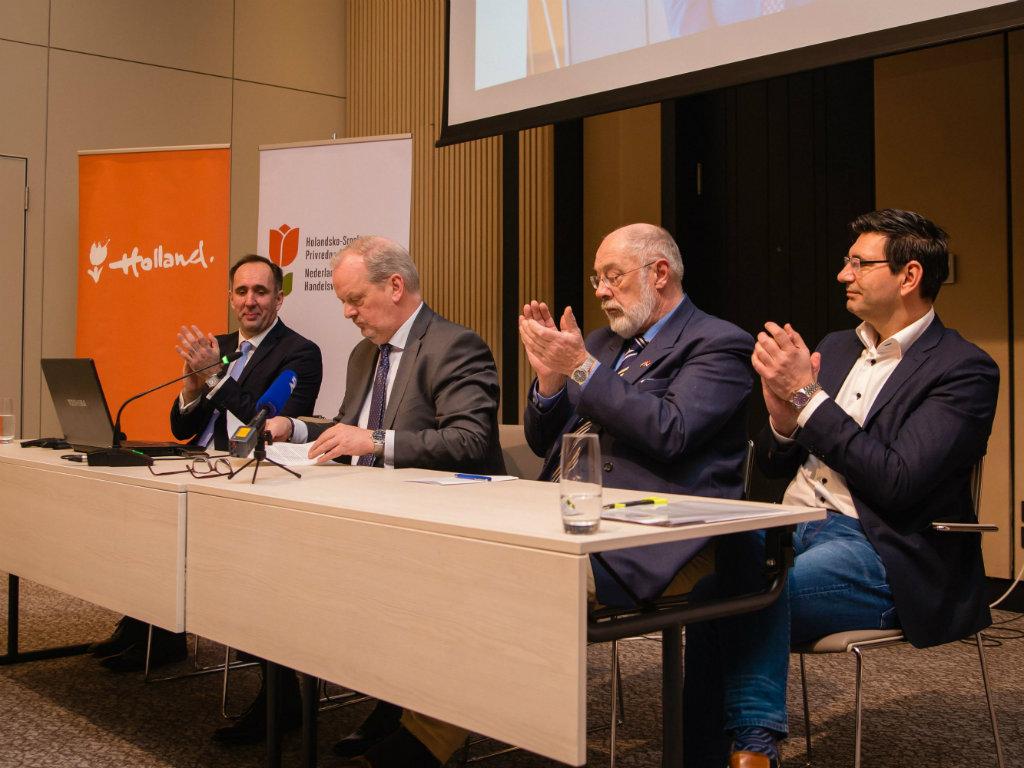 Holandsko-srpska privredna asocijacija za tri meseca okupila 30 članova - Održana prva Generalna skupština