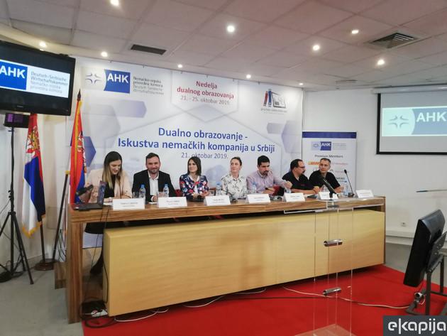 Nemačke kompanije predstavile iskustva o dualnom obrazovanju u Srbiji - U firmama uči već 5.100 đaka