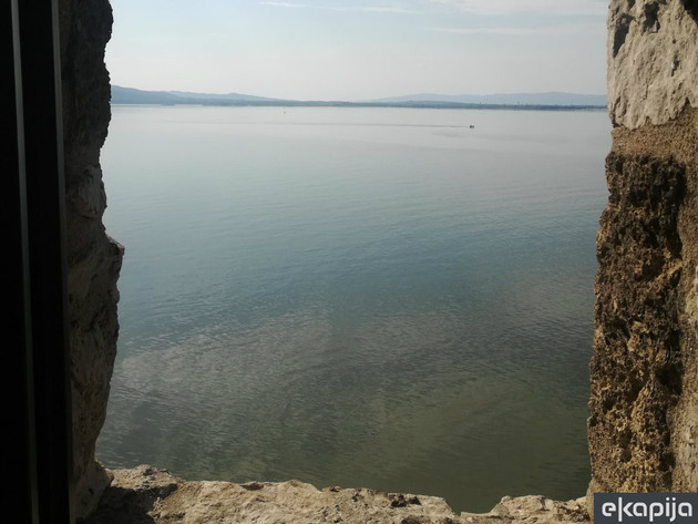 The view of Danube from the fortress