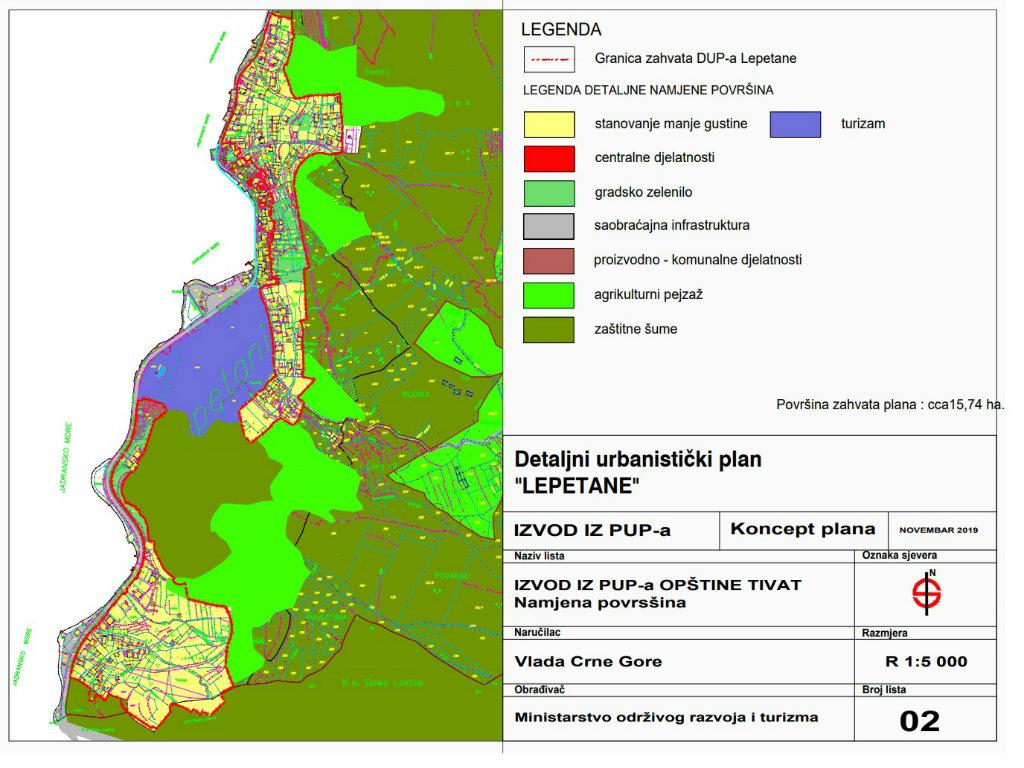 Lepetane postaje razvijeno turističko naselje - U planu izgradnja hotela, stambenih objekata i auto-kampa