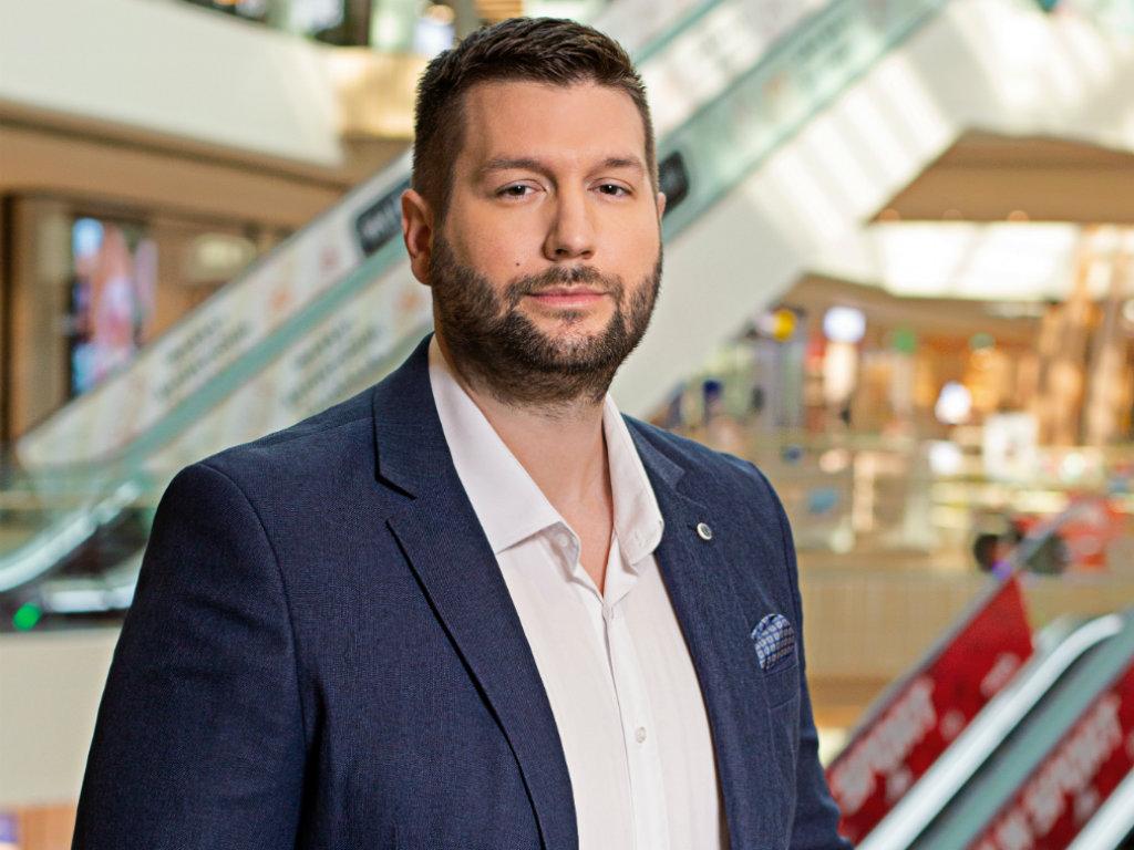 Dušan Simeunović, leasing menadžer Ada Mall šoping centra - Želimo da naš centar bude mesto susreta svih generacija