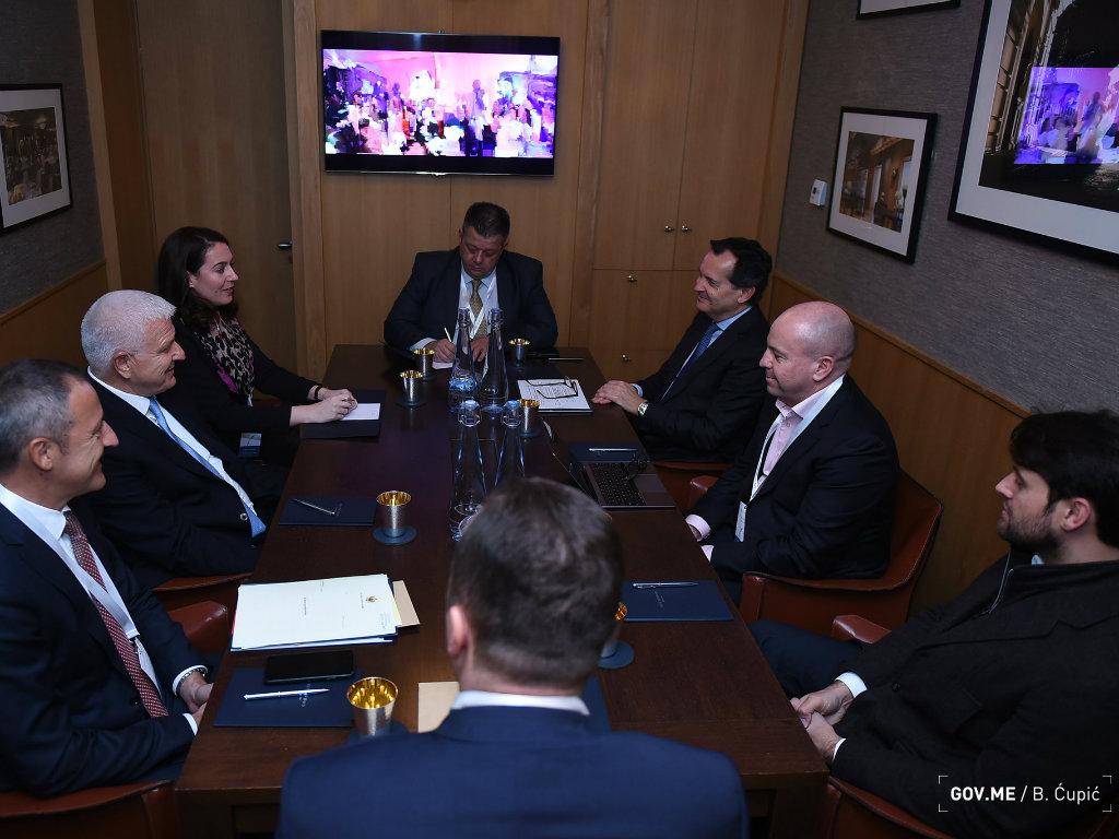 Marković sa predstavnicima kompanije Qatari Diar - Što prije nastaviti gradnju turističkog kompleksa u uvali Pržna