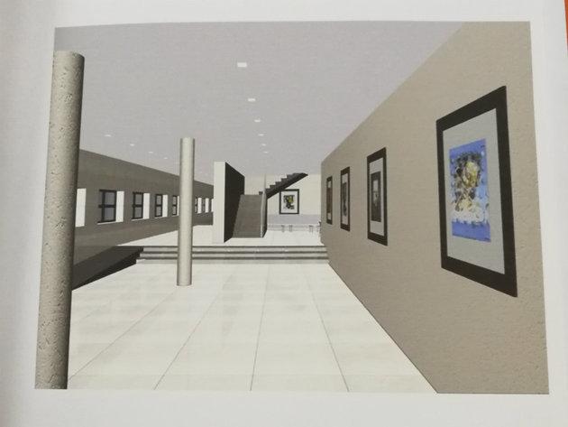 Budući izgled hola Dvorane Park