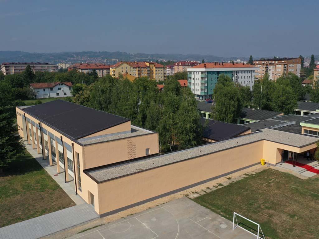 Otvorena sportska dvorana u banjalučkom naselju Starčevica