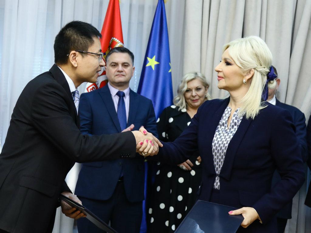 Džang Đenćao i Zorana Mihajlović