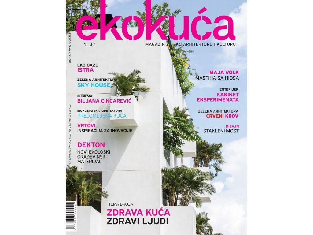 Šta donosi novi broj Magazina za eko arhitekturu i kulturu EKO KUĆA