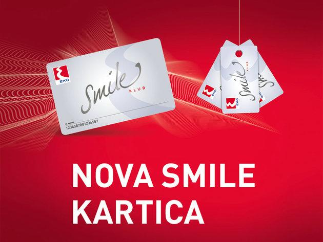 Nova, redizajnirana EKO Smile kartica - Nagrađuje lojalnost i prati digitalne trendove