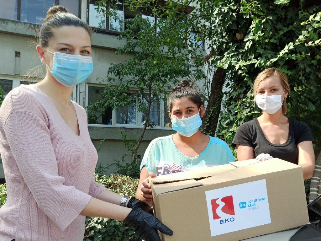 Pomoć socijalno ugroženim porodicama - EKO PUT DO SRCA