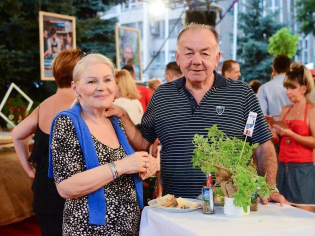 Sa suprugom Vedranom