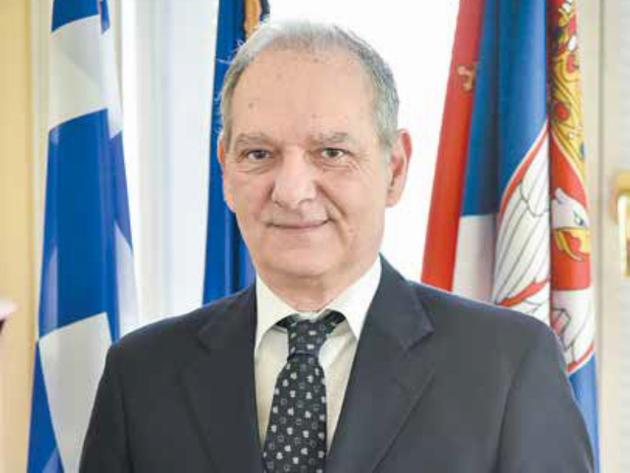 Elias Eliadis, ambasador Grčke u Srbiji - Odlične odnose dve zemlje preneti i na polje ekonomije