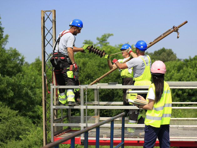 Rekonstrukcija kontaktne mreže na projektu Jajinci-Mala Krsna