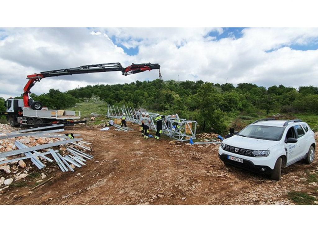 Kompanija Elnos na najvećem infrastrukturnom zadatku Crne Gore
