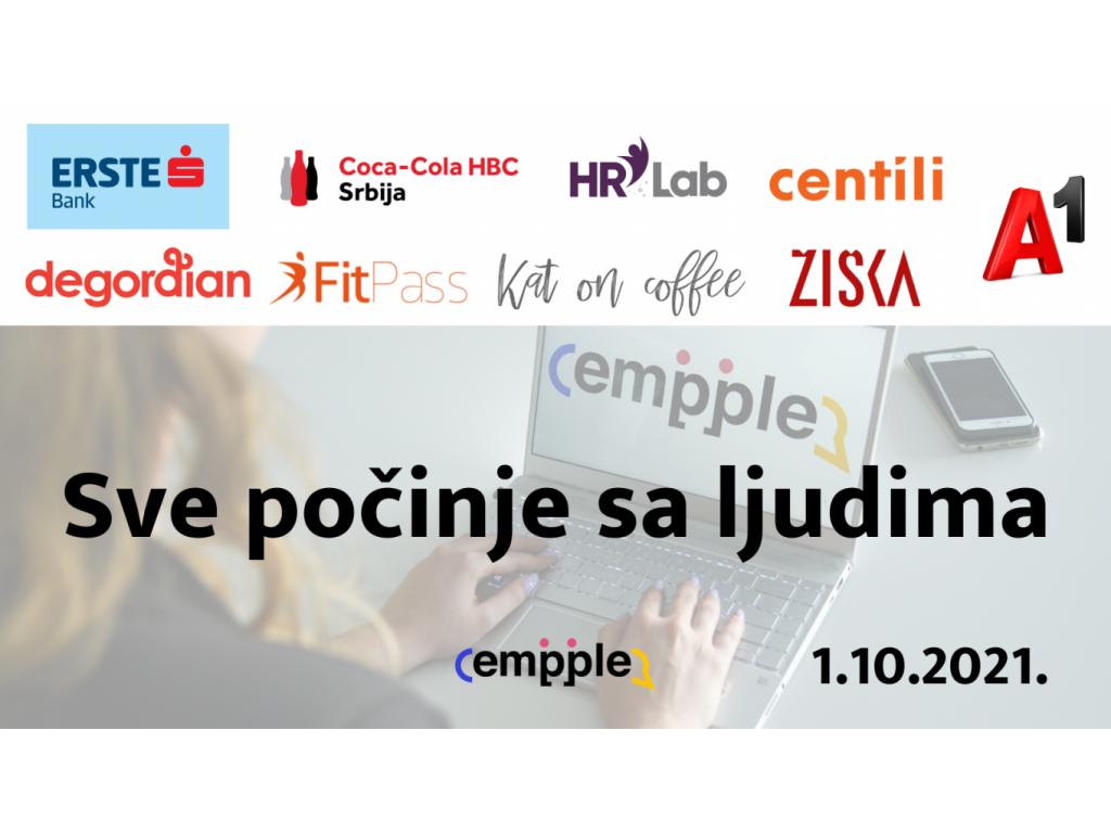 Empple, prvi employer branding festival u Srbiji, 1. oktobra u Beogradu