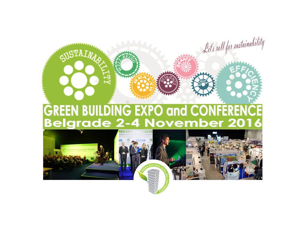 "Zelene zgrade budućnost građevinarstva - ""Green Building Expo and Conference"" od 2. do 4. novembra u Beogradu"
