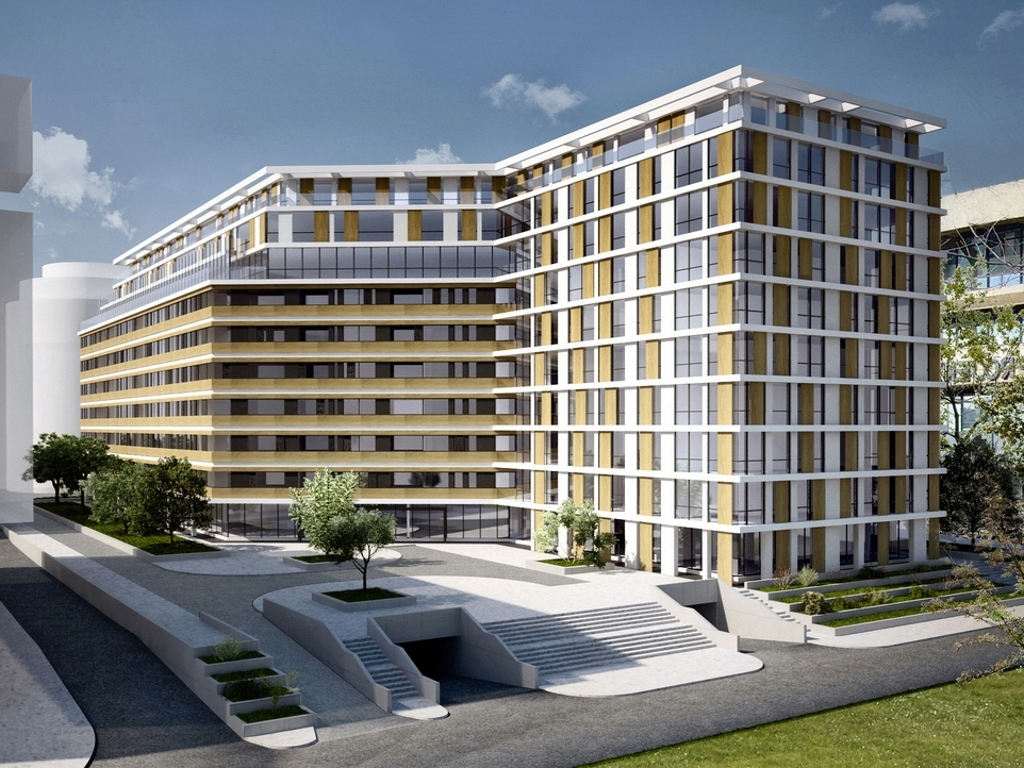 Energoprojekt is building residential and business complex in Block 11a in Novi Beograd (PHOTO)
