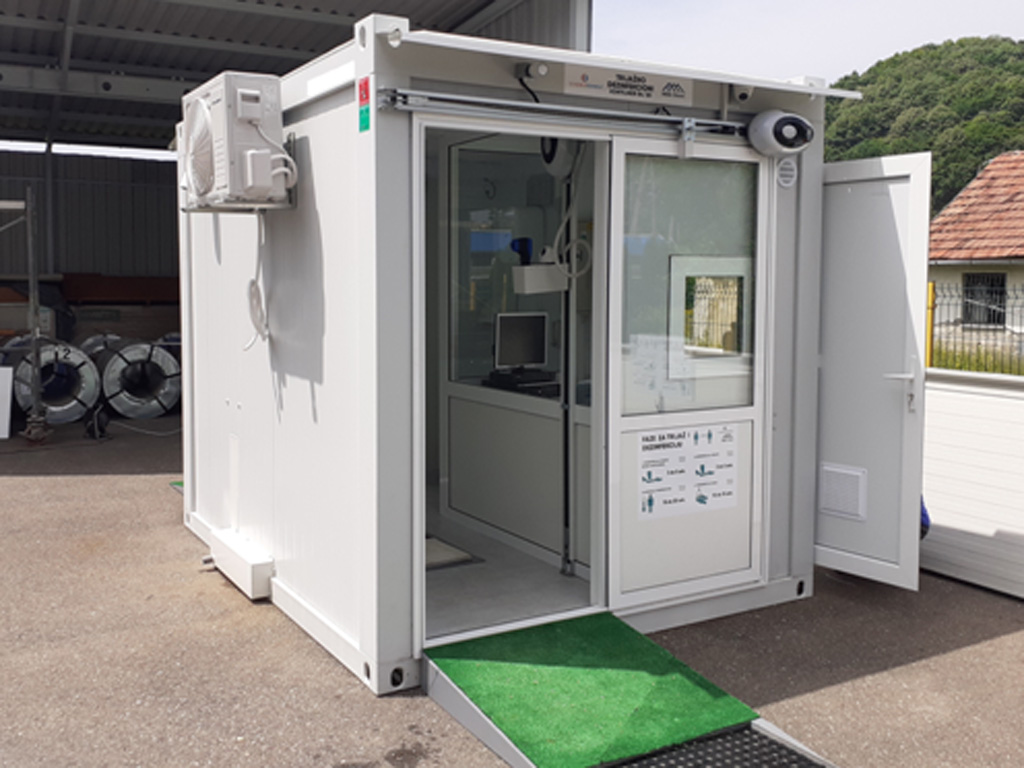 Efikasna zaštita od virusa - Dobojske firme Energotehnika i MBA Steel razvile moblini sistem za skeniranje