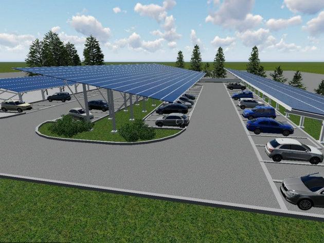 U planu energetska obnova zgrade EPCG - Na krovu i parking prostoru objekta u Nikšiću biće instalirano više od 1.000 solarnih panela