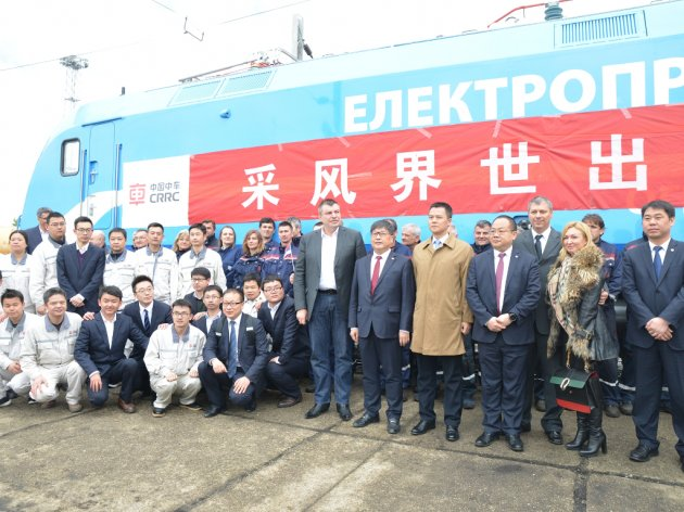 Procurement of traction vehicles for TENT begins – First Chinese engine arrives, another to come in six months