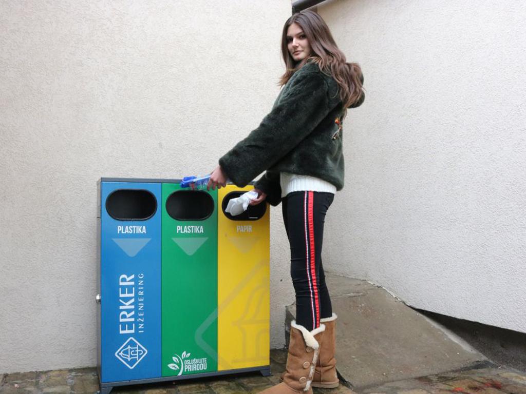 Eko punktovi za separaciju otpada u novosadskim školama i vrtićima