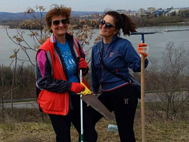 Volonteri u akciji čišćenja
