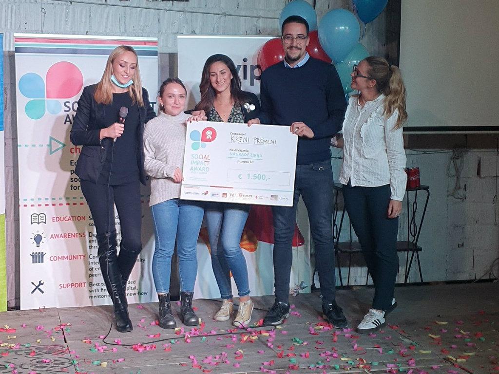 Dodeljene nagrade mladima koji pokreću biznise za rešavanje društvenih problema u Srbiji