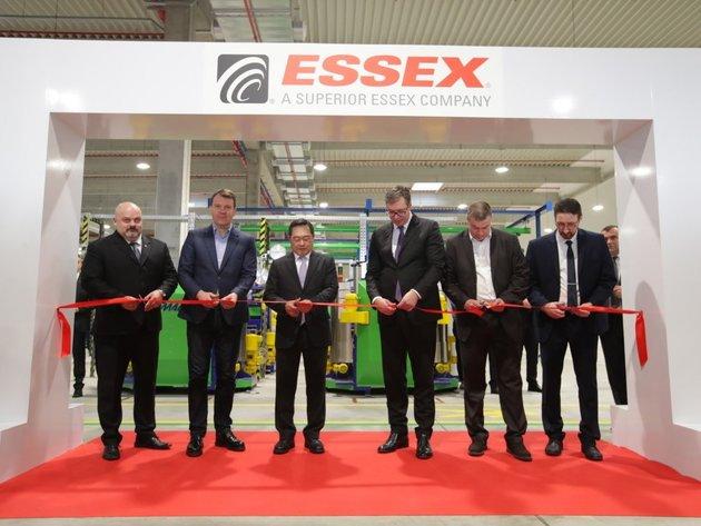 Svečano otvaranje fabrike Essex Europe u Zrenjaninu