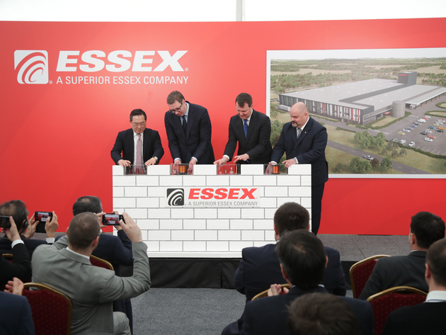 Južnokorejska fabrika Essex Europe počinje proizvodnju u Zrenjaninu krajem novembra