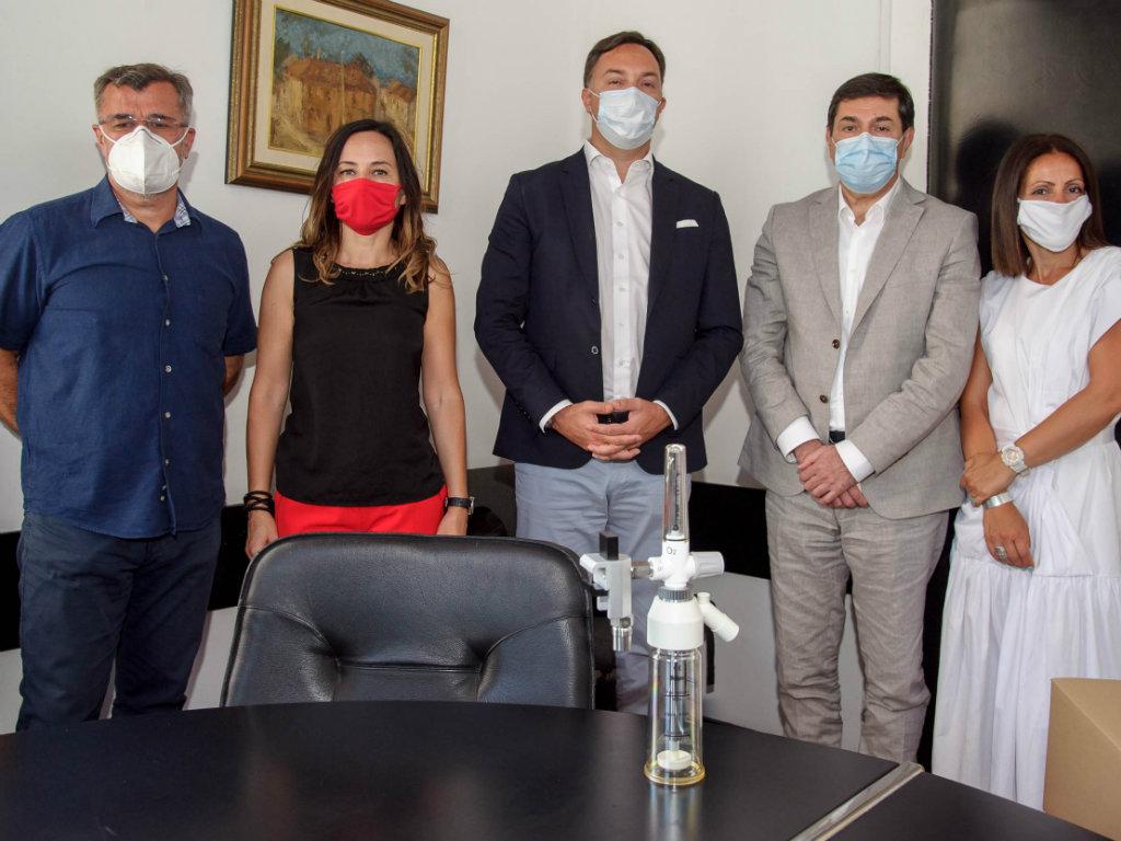 Eurobank Kliničkom centru Srbije donirala 20 kiseoničkih protokomera
