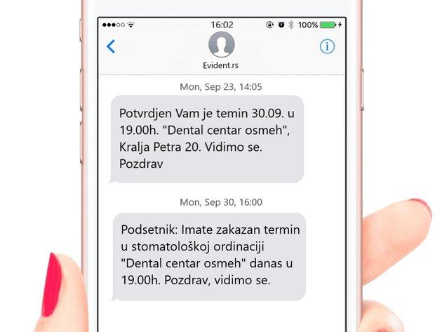 Startap Evident iz Srbije osvaja tržišta regiona - Automatski SMS podsjetnik pomaže stomatolozima, profesorima, auto servisima...