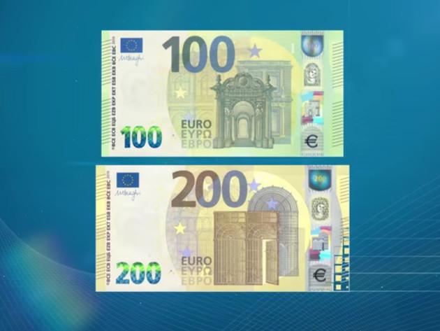 Nove novčanice od 100 i 200 EUR u opticaju krajem maja