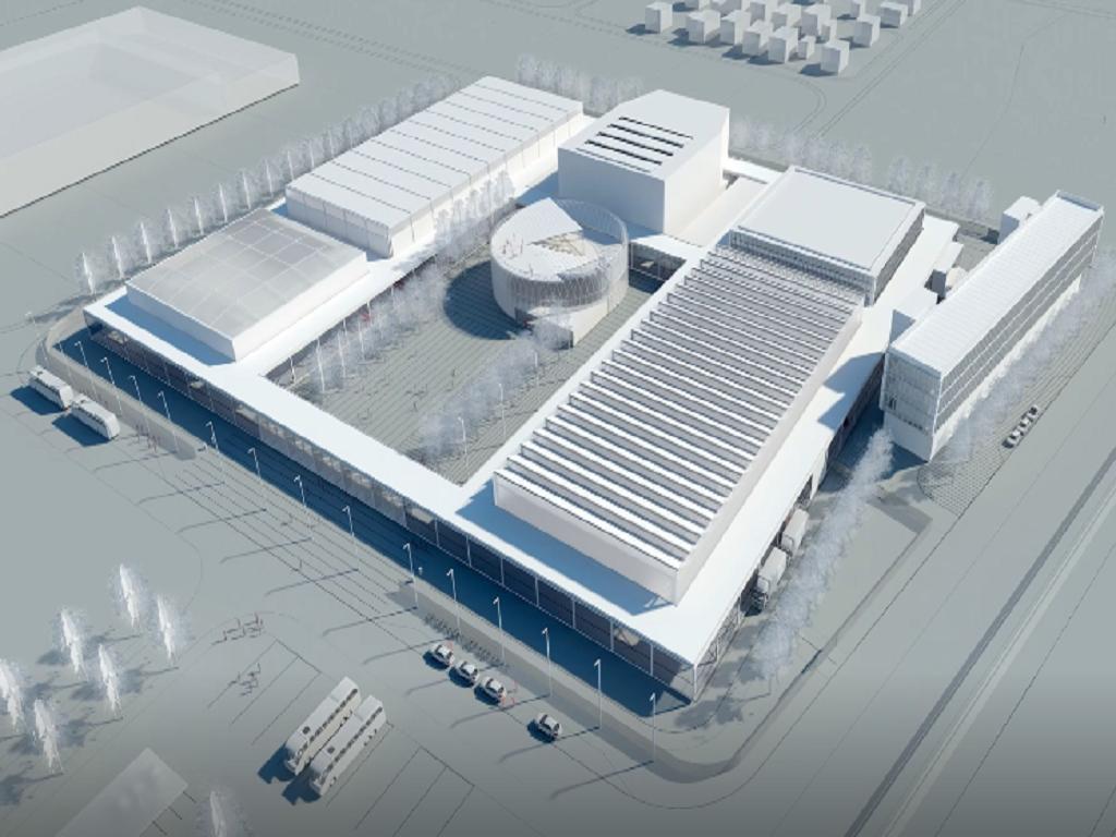Evo kako će izgledati multifunkcionalni Ekspo centar u Nišu - Kongresne dvorane, hotel i sportski tereni na 13.500 m2 (VIDEO)