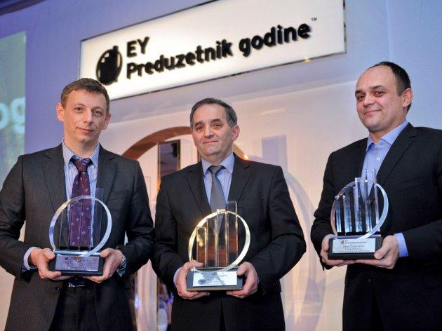 """Sa dodele nagrade za """"EY preduzetnika 2013. godine"""